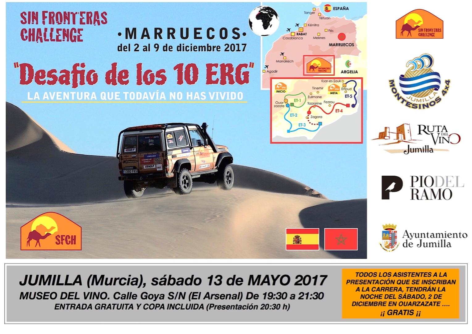 Sin fronteras challenge rally raid de navegaci n for Oficina turismo marruecos
