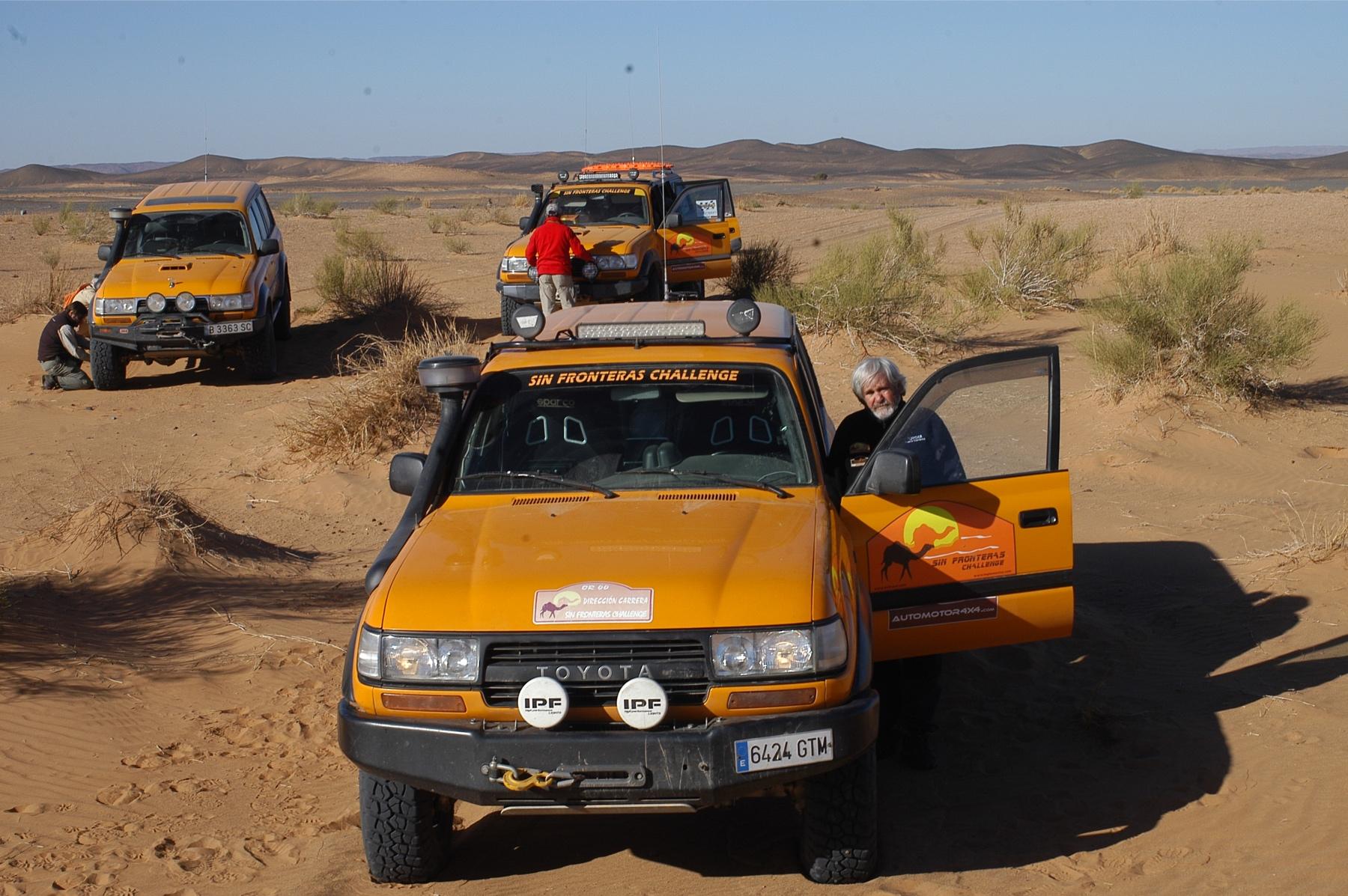 Sin Fronteras Challenge - Rally Raid de navegación