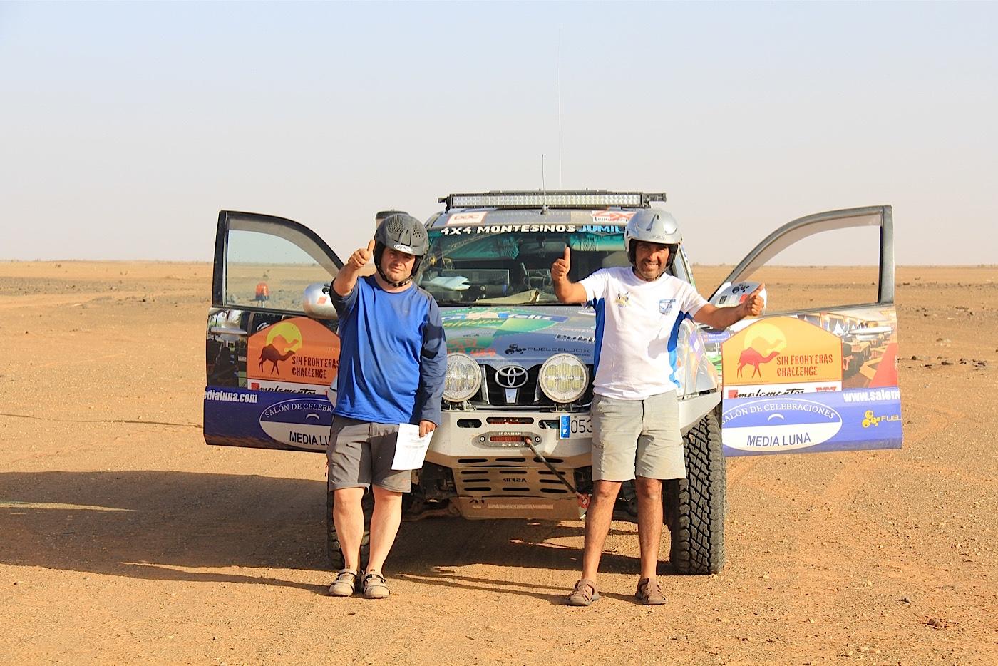 Sin fronteras challenge rally raid proam 2016 for Oficina turismo marruecos